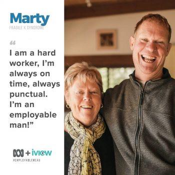 Marty: Employable Me?